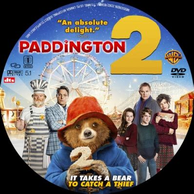 paddington 2 dvd covers & labels by covercity