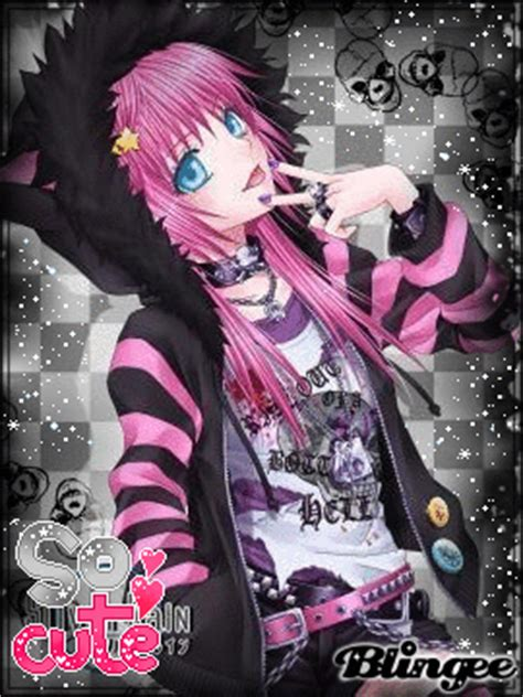 imagenes emo anime cute punk anime picture 86244751 blingee com
