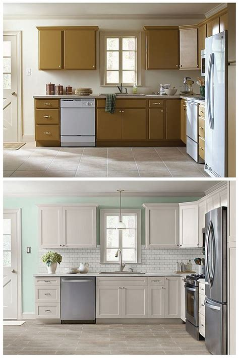Diy Kitchen Cabinet Refacing Ideas | 10 diy cabinet refacing ideas diy ready