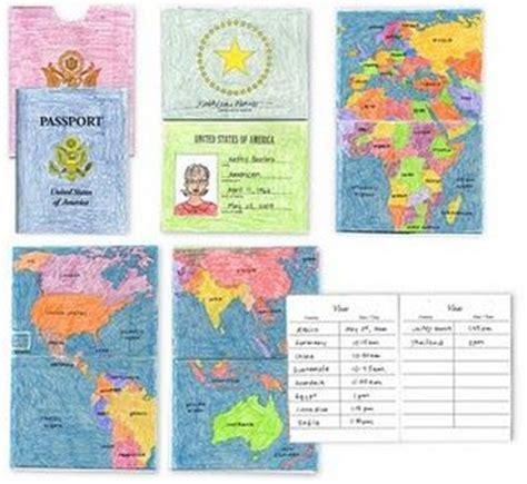 Around The Worlds Passport And Passport Template On Pinterest Us Passport Template
