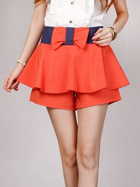 7 Skirts For End Of Summer by Summer Bow Patch Pleated Skirt