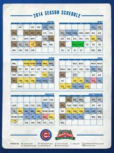 cubs home schedule october 2015 broadcast calendar calendar template 2016
