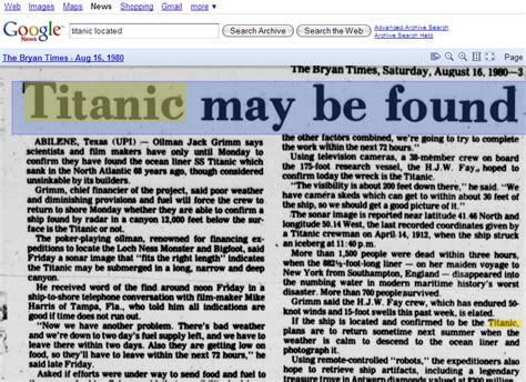 google images archive new google online newspaper archive search walyou