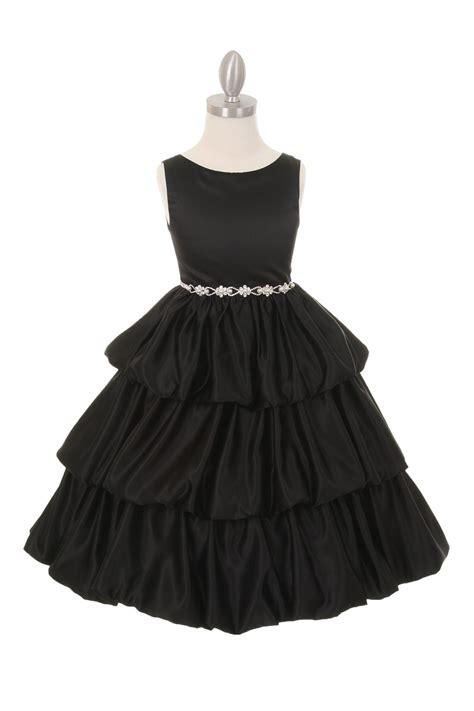 Black Layer Dress W8211usn I black flower dresses dress line