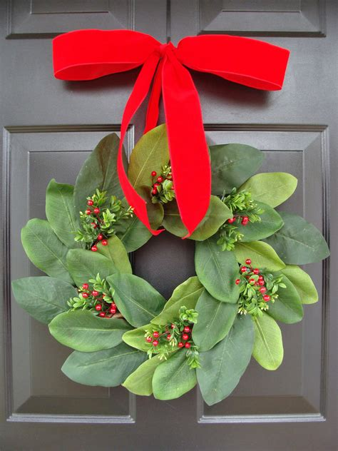 christmas bow christmas decoration wreath bow added to