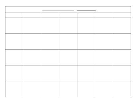 calendar grid template blank printable monthly calendar 2018 calendar template