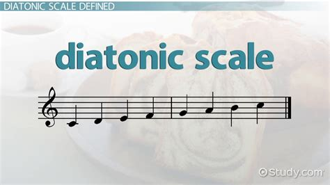 pattern definition music diatonic scale definition patterns video lesson
