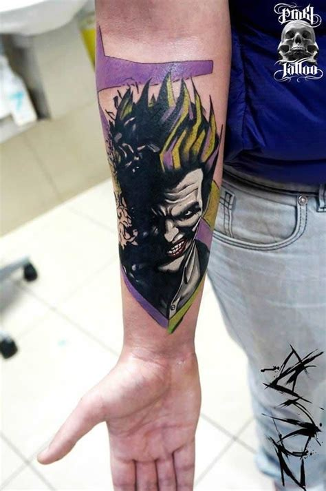 joker tattoos for men joker tattoo and comic book tattoo