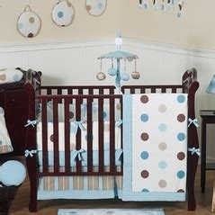 Brown And Blue Crib Bedding Blue And Brown Bedding Sets
