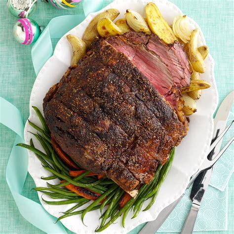 standing rib roast recipe taste of home