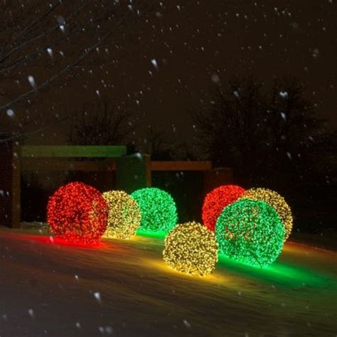 light spheres light spheres outdoor 15 festive ways to