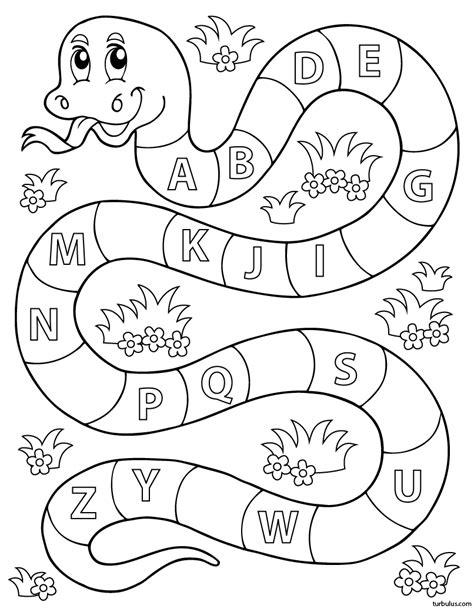 Apprendre L Alphabet Exercice Ludique 1 Turbulus
