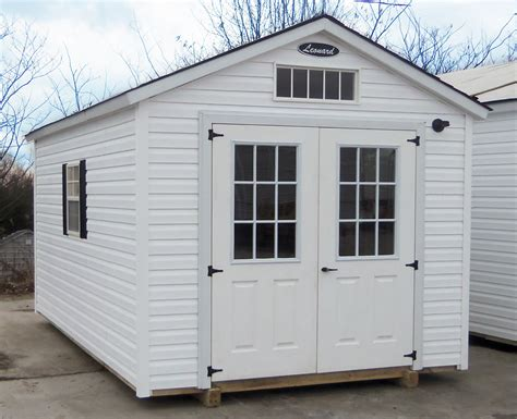 Shed Doors And Windows by Vinyl Storage Sheds Leonard Buildings Truck Accessories