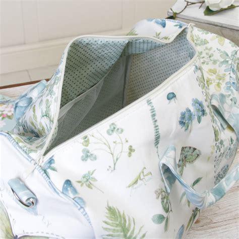 Diskon Original Staresso Storage Bag botanical floral canvas storage bags selection by dibor notonthehighstreet