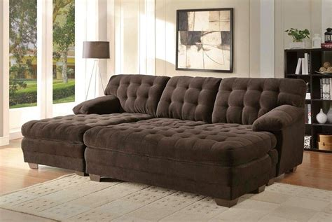 sectional sofa with oversized ottoman 10 best collection of sectional sofas with oversized ottoman
