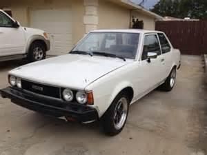 Toyota Corolla 1980 1 8 Find New 1980 Toyota Corolla 1 8 With Mazda Rotary Engine