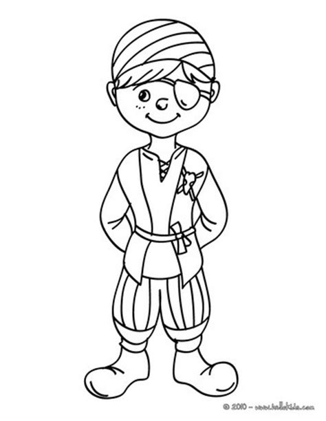 pirate boy coloring page pirate carnival costume coloring pages hellokids com
