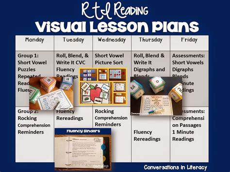 visual communication design lessons short vowel activities rti visual plans