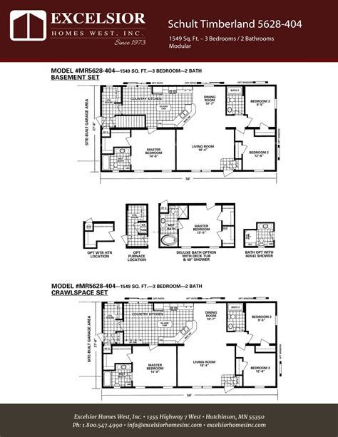 schult timberland 5628 53 excelsior homes west inc schult timberland 5628 404 excelsior homes west inc