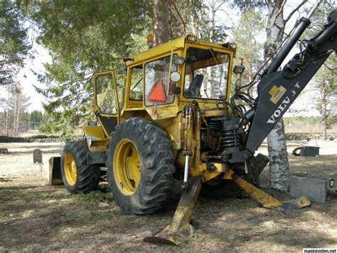 volvo bm  traktorgraevare maskinisten