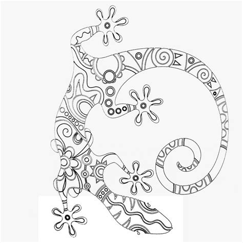 christmas lizard coloring pages colors of nature adult colouring book lizard coloring