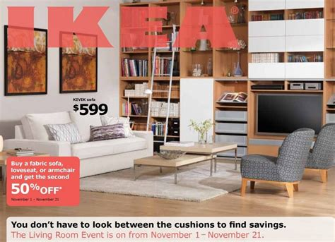 half price sofa sale canada 50 off your 2nd fabric sofa purchase at ikea