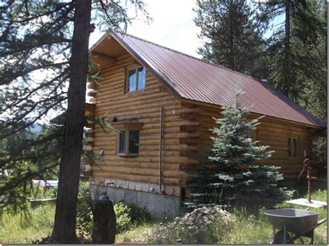 remote sustainable living yaak river property in montana