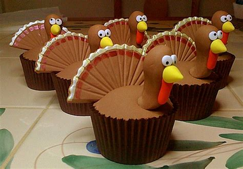 Thanksgiving Cake Decorating Ideas by Easy Adorable Thanksgiving Cupcake Decorating Ideas
