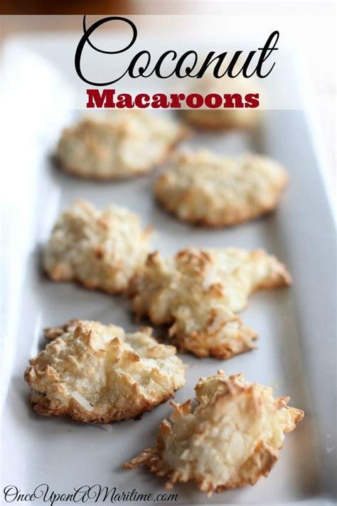 amazing gluten free coconut macaroons