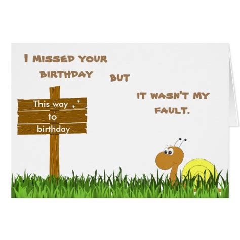 Birthday Card Mail Snail Mail Birthday Card Zazzle