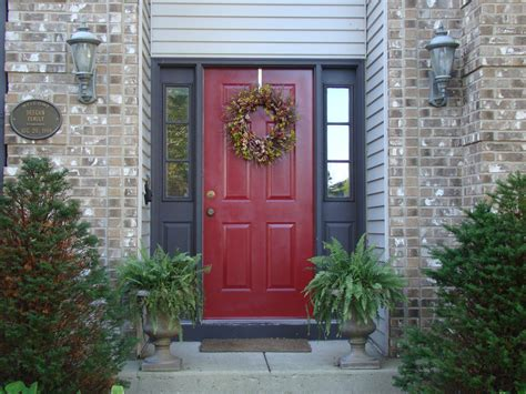red door home decor furniture exquisite pictures of front porch design and