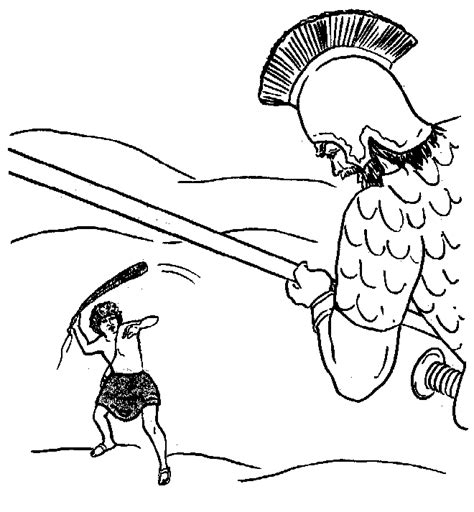 christian coloring pages david and goliath compassion family bible coloring pages