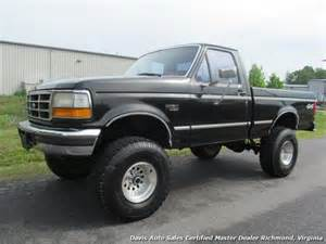 1996 Ford F150 4x4 For Sale 1996 Ford F 150 Xlt Manual 4x4 Regular Cab Bed