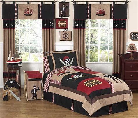 Pirate Bed Sets Pirate Treasure Cove Bedding Set 4 Size By Sweet Jojo Designs Blanket Warehouse
