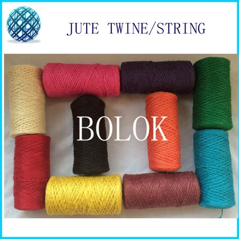 colored jute twine buy wholesale colored jute twine from china colored