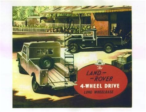 vintage land rover ad the pinehurst land rover society vintage rover ads