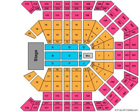 Grand Arena Floor Plan by Cheap Mgm Grand Garden Arena Tickets