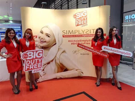 airasia duty free stay tuned to airasia big duty free x simplysiti press