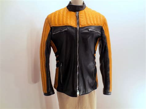 black and gold motorcycle jacket no shop available