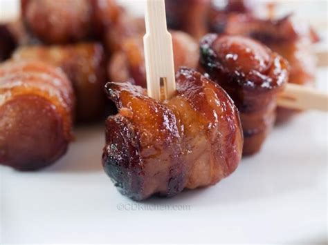 bacon wrapped dogs bacon wrapped dogs recipes dishmaps