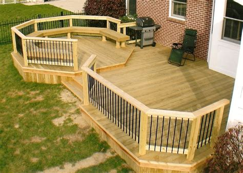 Deck Ideas For Backyard Small Backyard Decks Design Ideas