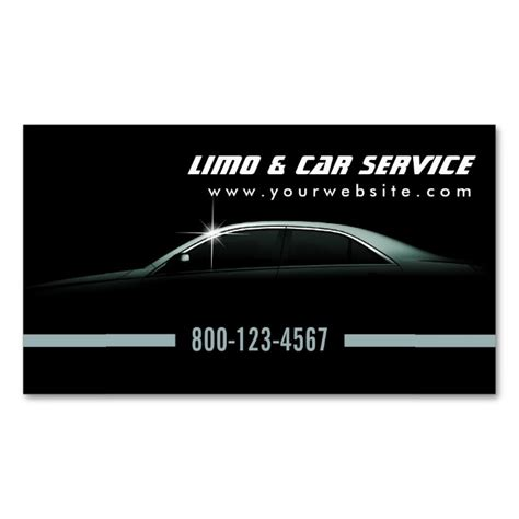 17 best images about limo taxi business cards on