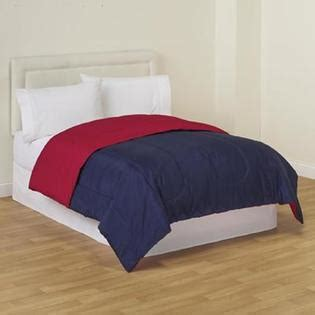red reversible comforter cannon solid reversible comforter red navy