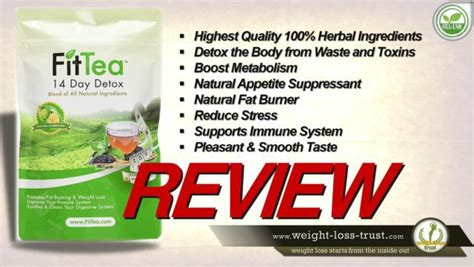 Is Fit Detox Tea Legit by 14 Day Detox Tea By Fit Tea Reviews
