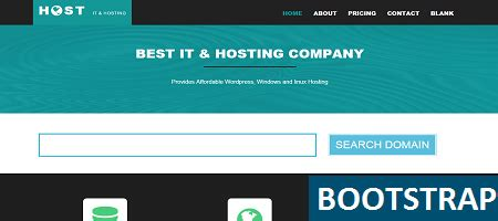 Free Bootstrap Hosting Template For Any Pupose Bootstrap Terms And Conditions Template