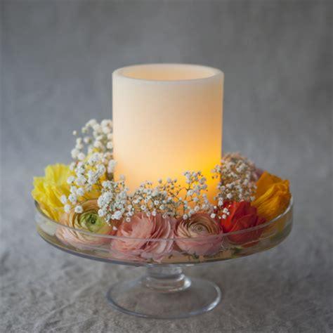 centre de table bougie mariage cr 233 ation centre de table avec des bougies led et chauffe