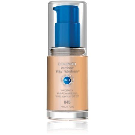 Covergirl Outlast Foundation covergirl outlast stay fabulous 3 in 1 foundation