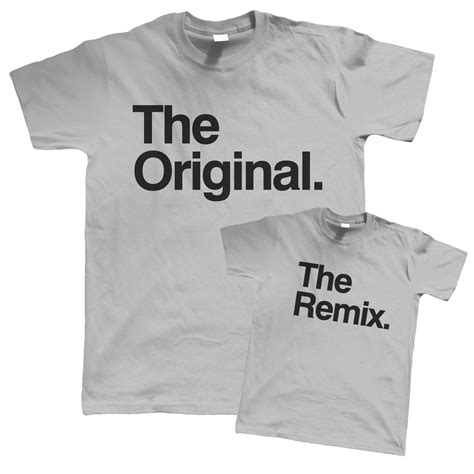 T Shirt Original original and remix t shirt