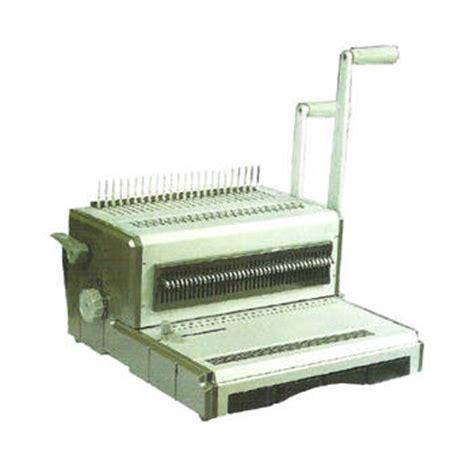 Pasaran Mesin Laminating jual mesin binding jilid gemet 602d harga murah toko distributor di jakarta