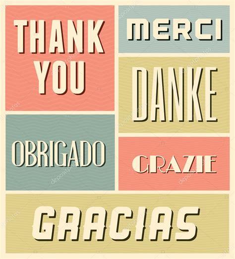 imagenes de gracias vintage gracias cartel vintage vector de stock 169 ivaleks 31472251
